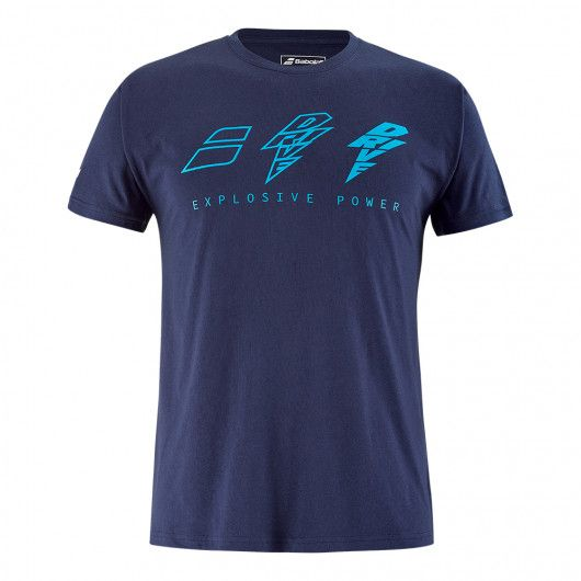 Футболка для тенниса мужская Babolat DRIVE COTTON TEE MEN 4US21441X/4086