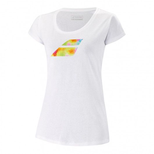 Футболка для тенниса женская Babolat EXERCISE BIG FLAG TEE WOMEN 4WS21442/1000