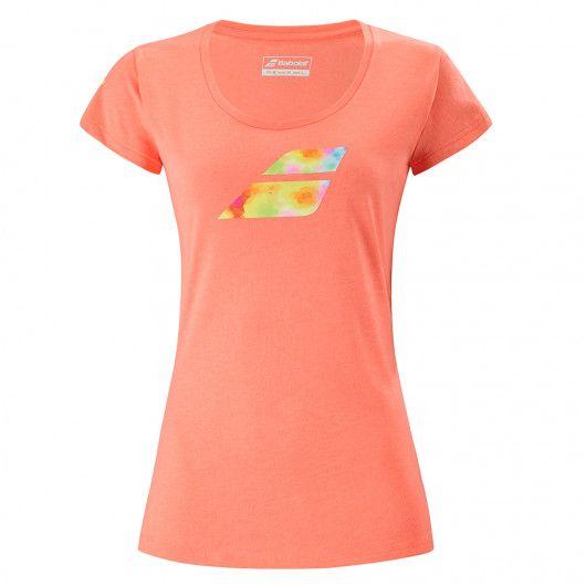 Футболка для тенниса женская Babolat EXERCISE BIG FLAG TEE WOMEN 4WS21442/6012