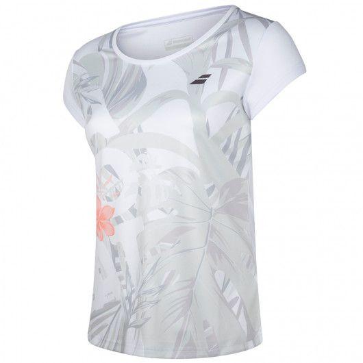 Футболка для тенниса женская Babolat EXERCISE GRAPHIC TEE WOMEN 4WTA012/1000