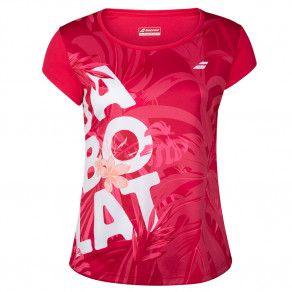 Футболка для тенниса женская Babolat EXERCISE GRAPHIC TEE WOMEN 4WTA012/5028