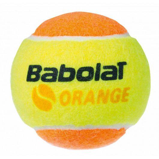 Мячи теннисные Babolat ORANGE X3 (Банка,3 штуки) 501035/113