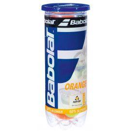 Мячи теннисные Babolat ORANGE X3 (Банка ,3 штуки) 501035/113...