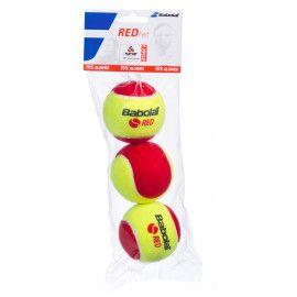 Мячи теннисные Babolat RED FELT X3 (Банка ,3 штуки) 501036/113...