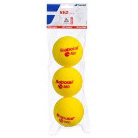 Мячи теннисные Babolat RED FOAM X3 (Банка ,3 штуки) 501037/113...