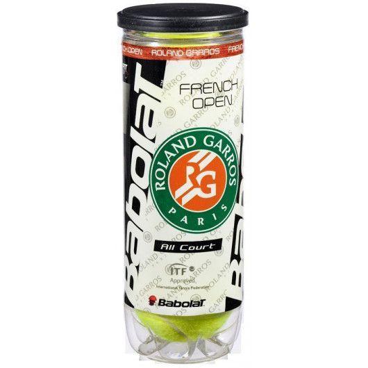 Мячи теннисные Babolat BALL RG/FOAC X3 (Банка ,3 штуки) 501042/113
