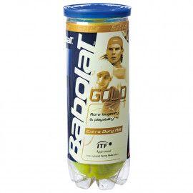 Мячи теннисные Babolat GOLD X3 (Банка ,3 штуки) 501043/113...