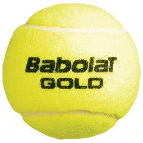 Мячи теннисные Babolat GOLD X3 (Банка ,3 штуки) 501043/113