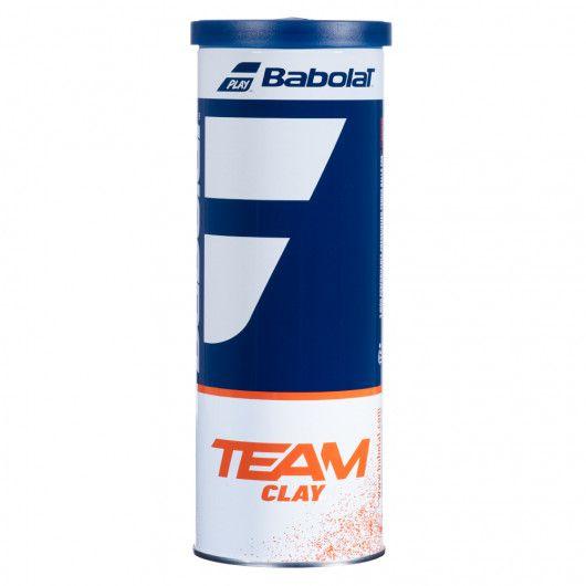 Мячи теннисные Babolat TEAM CLAY X3 (Банка,3 штуки) 501082/113