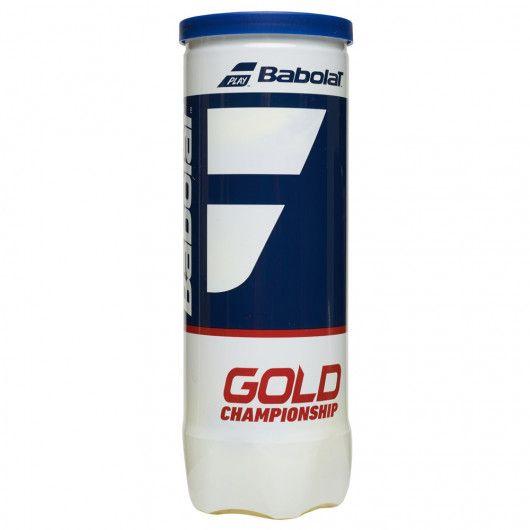 Мячи теннисные Babolat GOLD CHAMPIONSHIP X3 (Банка ,3 штуки) 501084/113