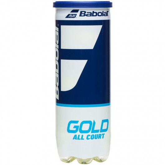 Мячи теннисные Babolat GOLD ALL COURT X3 (Банка ,3 штуки) 501086/113
