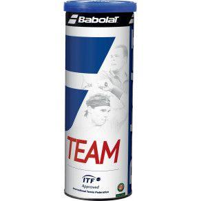 Мячи теннисные Babolat TEAM X4 (Банка,4) 502035/113