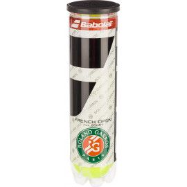 Мячи теннисные Babolat BALL RG/FOAC X4 (Банка ,4) 502036/113...