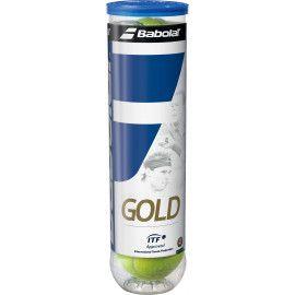 Мячи теннисные Babolat GOLD PET X4 (Банка ,4) 502037/113...
