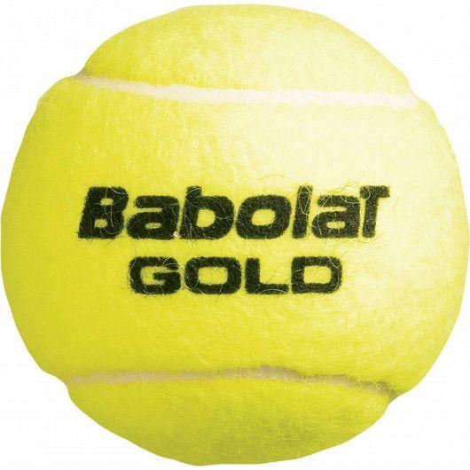 Мячи теннисные Babolat GOLD PET X4 (Банка ,4) 502037/113