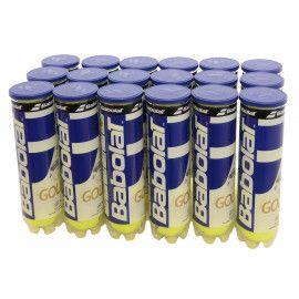 Мячи теннисные Babolat GOLD PET X4 (Ящик 18 банок) 502037/113Y...