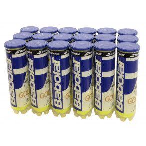 Мячи теннисные Babolat GOLD PET X4 (Ящик 18 банок) 502037/113Y