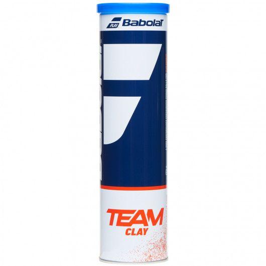Мячи теннисные Babolat TEAM CLAY X4 (Банка ,4) 502080/113