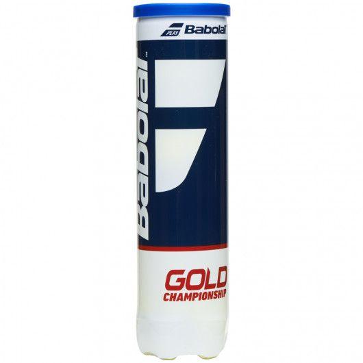 Мячи теннисные Babolat GOLD CHAMPIONSHIP X4 (Банка ,4) 502082/113
