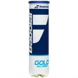 Мячи теннисные Babolat GOLD ALL COURT X4 (Банка,4) 5020...