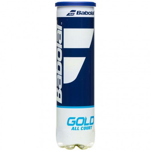 Мячи теннисные Babolat GOLD ALL COURT X4 (Банка ,4) 502085/113