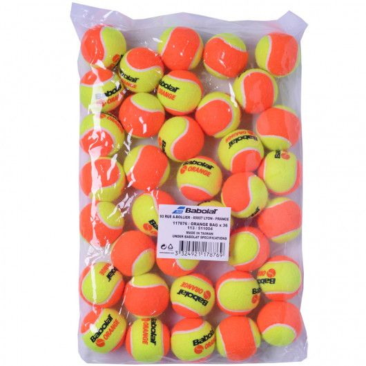 Мячи теннисные Babolat ORANGE BAG X36 (Упаковка,36) 511004/113