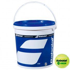 Мячи теннисные Babolat GREEN BOX X72 (Ведро,72) 514006/...