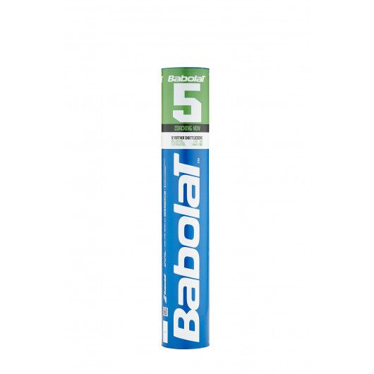 Воланы Babolat FEATHER SHUTTLE BABOLAT 5 (Упаковка,12 штук) 551019/101