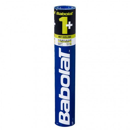 Воланы Babolat FEATHER SHUTTLE BABOLAT 1+ (Упаковка,12 штук) 551027/101