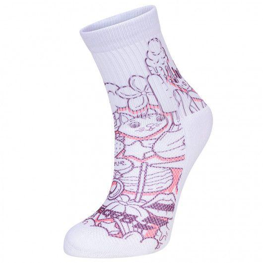 Носки спортивные детские Babolat GRAPHIC SOCKS GIRLS (Упаковка,1 пара) 5GA1451/1037O