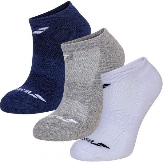 Носки спортивные детские Babolat INVISIBLE 3 PAIRS PACK JUNIOR (Упаковка,3 пары) 5JA1461/1033