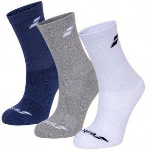 Носки спортивные Babolat 3 PAIRS PACK SOCKS (Упаковка,3 пары) 5UA1371/1033