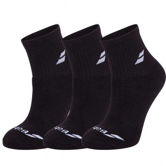 Носки спортивные Babolat QUARTER 3 PAIRS PACK (Упаковка,3 пары) 5UA1401/2000