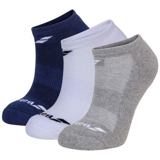 Носки спортивные Babolat INVISIBLE 3 PAIRS PACK (Упаковка,3 пары) 5UA1461/1033
