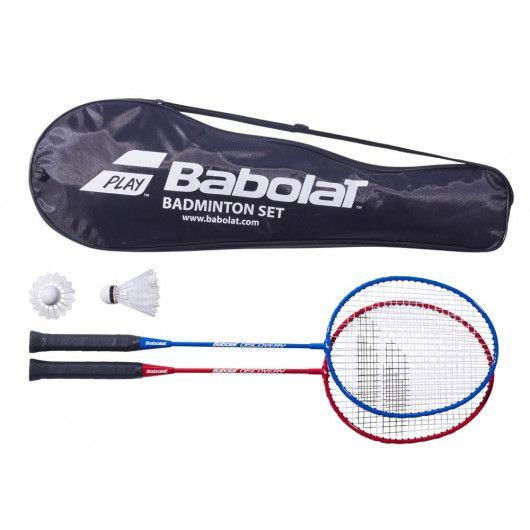 Бадминтонная ракетка Babolat BADMINTON LEISURE KIT X2 (Комплект,2 ракетки, 2 волана) 620100/100