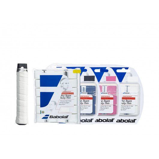 Намотка Babolat PRO TEAM TACKY THIN X3 (Упаковка,3 штуки) 653030/105(653030/105)