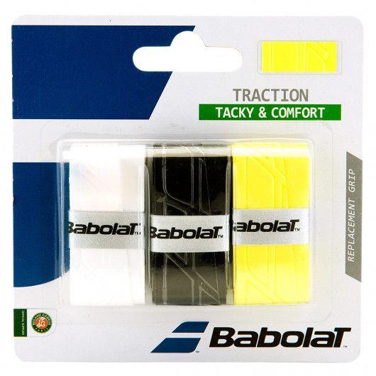 Намотка на ракетку Babolat TRACTION X3 (Упаковка,3 штуки) 653043/134