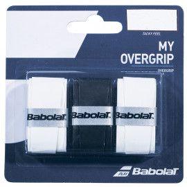 Намотка на ракетку Babolat MY OVERGRIP X3 (Упаковка,3 штуки) 653045/14...