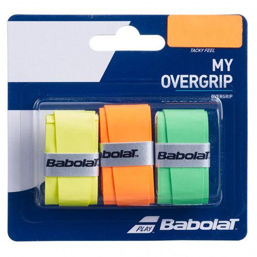 Намотка на ракетку Babolat MY OVERGRIP X3 (Упаковка,3 штуки) 653045/215