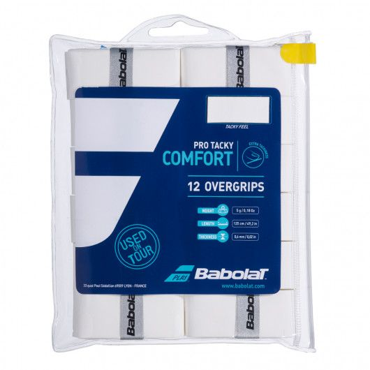 Намотка Babolat PRO TACKY OVERGRIP X12 (Упаковка,12 штук) 654009/101