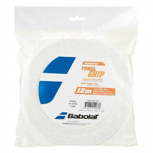 Ручка бадминтонная Babolat TOWEL GRIP 12M (12 метров) 670033/101