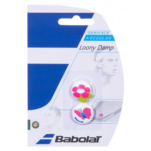 Виброгаситель Babolat LOONY DAMP X2 GIRL (Упаковка,2 штуки) 700028/134