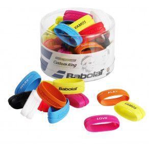 Резинка для ручки Babolat CUSTOM RING BOX X60 (Упаковка,60) 710026/134