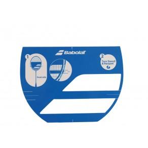 Трафарет бадминтонный для ракетки Babolat STENCIL LOGO BADMINTON 860110/100